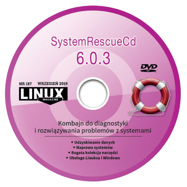 LM 187 DVD: SystemRescueCD 6.0.3