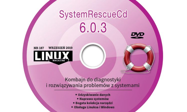 DVD-LM187 SystemRescueCd 6.0.3